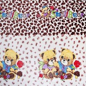 Покрывало велсофт 06271 Мишки 150/200 фото