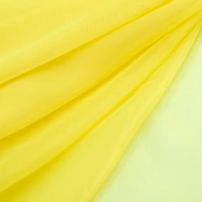 Ткань на отрез Вуаль 280 см 5 цвет желтый фото