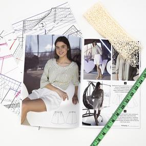 Журнал с выкройками для шитья Ya Sew №1/2021 фото