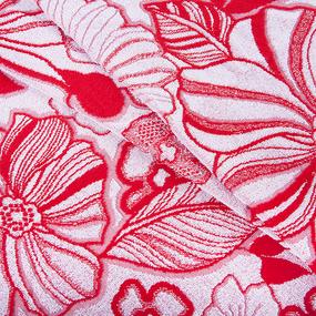 Полотенце махровое 2952/1 Самой милой цвет красный 70/140 см фото