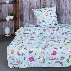 Детское постельное белье из бязи 1.5 сп 11157/1 Мечта c 1-й нав. 50/70 фото