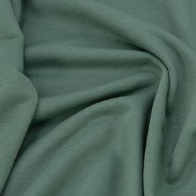 Ткань на отрез футер 3-х нитка диагональный цвет светло-зеленый фото