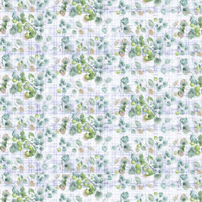 Перкаль 220 см 207422Перк Дивный сад осн. 2 син. фото