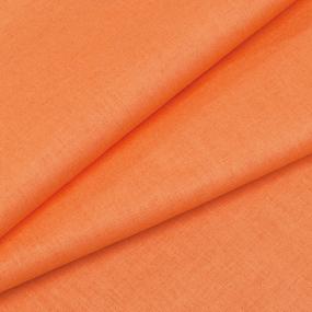 Ткань на отрез бязь М/л Шуя 150 см цвет оранжевый фото