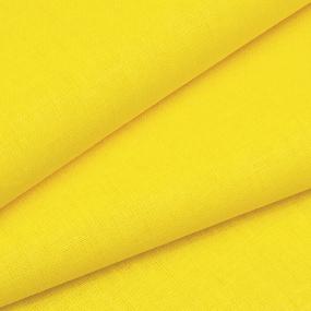 Ткань на отрез бязь М/л Шуя 150 см цвет желтый фото