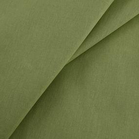 Ткань на отрез бязь гладкокрашеная 120 гр/м2 150 см цвет хаки фото