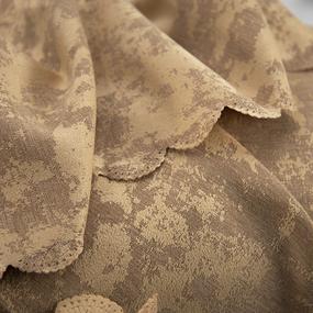 Портьерная ткань на отрез Мрамор 517/51 цвет темно-бежевый фото
