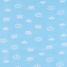 Маломеры бязь плательная 150 см 1694/7 цвет бирюза 1 м фото