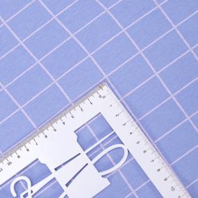 Ткань на отрез кулирка 1324-V4 Клетка цвет сиреневый фото
