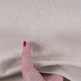 Ткань на отрез лен TBY-DJ-26 Натуральный К фото