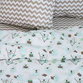 Постельное белье детское 7245/1 Коалы 1.5 сп фото