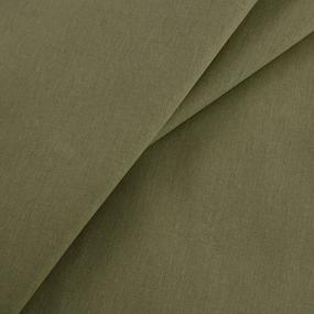 Ткань на отрез бязь гладкокрашеная ГОСТ 150 см цвет хаки фото