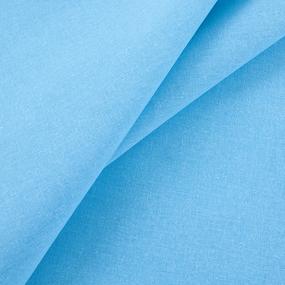 Ткань на отрез бязь гладкокрашеная 120 гр/м2 150 см цвет бирюза фото