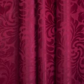 Портьерная ткань 150 см на отрез 2С391 цвет 14 малина фото