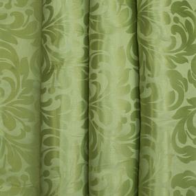 Портьерная ткань 150 см на отрез 2С391 цвет 6 зеленый фото
