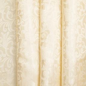 Портьерная ткань 150 см на отрез 100/2С цвет 72 бежевый фото