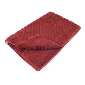 Полотенце махровое ножки 700 гр/м2 Туркменистан 50/70 см цвет винный фото