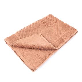 Полотенце махровое ножки 700 гр/м2 Туркменистан 50/70 см цвет жареный орех фото