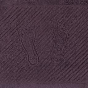 Полотенце махровое ножки 700 гр/м2 Туркменистан 50/70 см цвет шоколад фото
