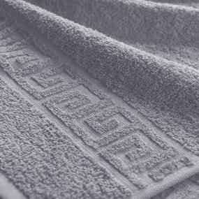 Полотенце махровое Туркменистан 40/70 см цвет серый фото