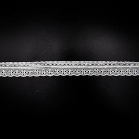 Шитьё 2,5см 08-40 белый 1 метр фото