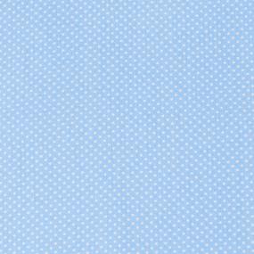 Мерный лоскут бязь плательная 150 см 1590/3 цвет голубой 1,55 м фото
