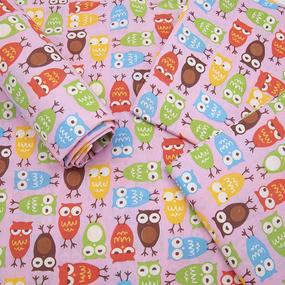 Набор детских пеленок поплин 4 шт 73/120 см 1799/1 цвет розовый фото