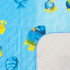 Покрывало детское ультрастеп двухстороннее Кораловый риф вид 2 140/100 см фото