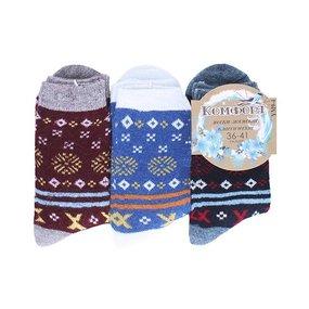 Женские носки с махрой Комфорт плюс 473-YM9-4 размер 36-41 фото