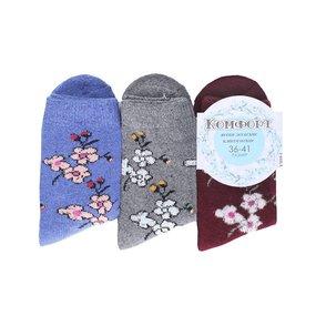 Женские носки с махрой Комфорт плюс 473-YM10-1 размер 41-47 фото