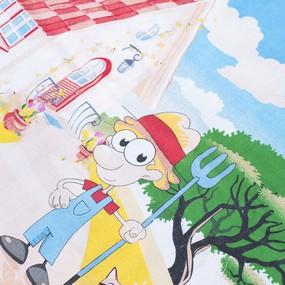 Постельное белье детское 4968/1 Веселая ферма 1.5 сп фото