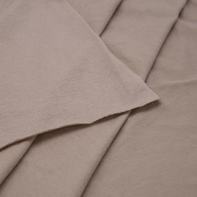 Ткань на отрез вискоза с лайкрой цвет визон фото