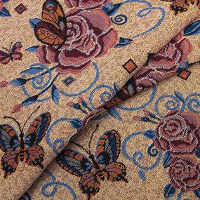 Ткань на отрез гобелен 155 см С67/4 1729 фото