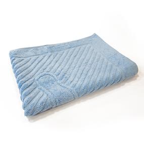 Полотенце махровое ножки 700 гр/м2 Туркменистан 50/70 см цвет голубой фото