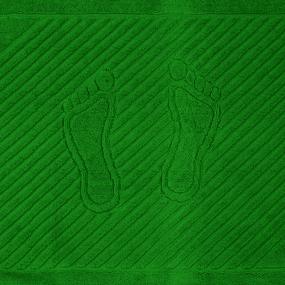 Полотенце махровое ножки 700 гр/м2 Туркменистан 50/70 см цвет зеленый фото