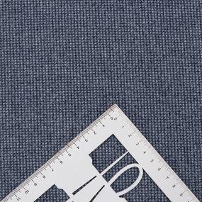 Ткань на отрез кашемир лапка цвет синий фото