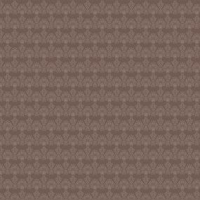 Ткань на отрез бязь Премиум 220 см 6812/1 Бельведер браун фото