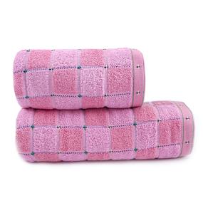 Полотенце махровое Sunvim 17AB-1 65/135 см цвет розовый фото