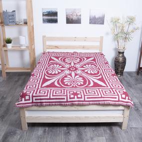 Одеяло п/ш жаккардовое 500 гр/м2 цвет бордо 150/200 см фото