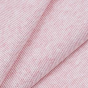 Ткань на отрез кашкорсе с лайкрой Melange цвет розовый фото