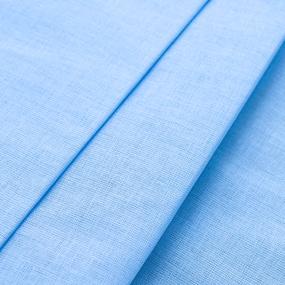 Мерный лоскут ситец 150 см 10150 голубой фото