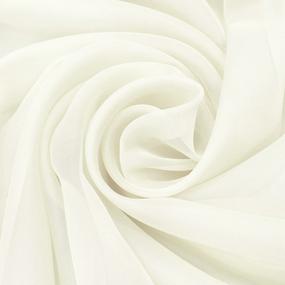 Мерный лоскут вуаль 280 см цвет TRL13-2 цвет молочный фото