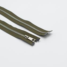 Молния металл №5СТ никель разьем 75см D565 хаки фото