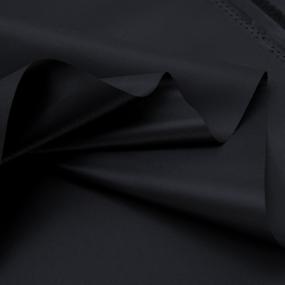 Ткань на отрез Оксфорд 210D-21 цвет чёрный фото