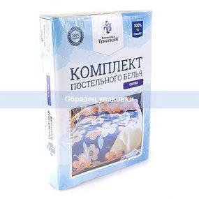 КПБ Страйп-сатин полоса Шоколад наволочка 1 - 70/70 1.5 сп фото