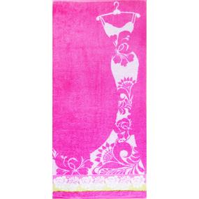 Полотенце махровое La moda ПЦ-2602-1111 50/90 см фото