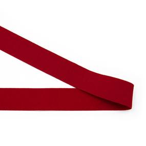 Резинка декоративная №19 красная 3см фото