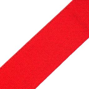 Резинка декоративная №19 красная 3,5см уп 10 м фото