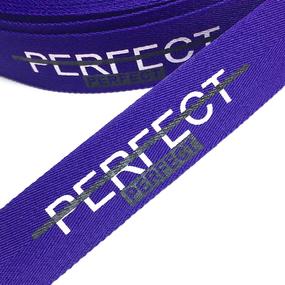 Тесьма фиолетовая PERFECT 2,5см 1 метр уп 10 м фото