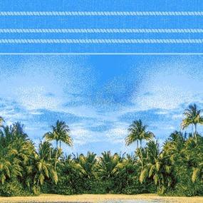 Вафельное полотно набивное 150 см 96281 фото